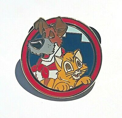 Disney Parks Best Friends Mystery Pack Dodger and Oliver Pin