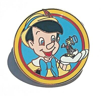 Disney Parks Best Friends Mystery Pack Pinocchio and Jimmy Cricket Pin