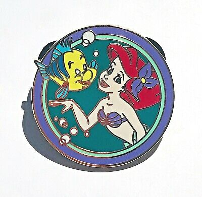 Disney Parks Best Friends Mystery Pack Flounder and Ariel Pin