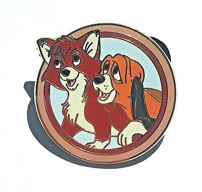 Disney Parks Best Friends Mystery Pack Todd and Copper Fox Pin