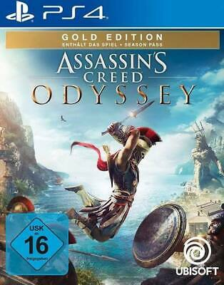 Assassin's Creed Odyssey - Gold Edition (Sony PlayStation 4, 2018)