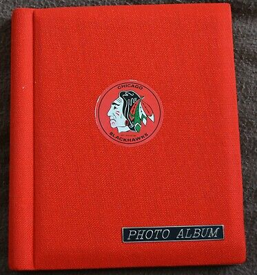 Original Chicago Blackhawks Candid Photos With Autographs!!! Vintage Album