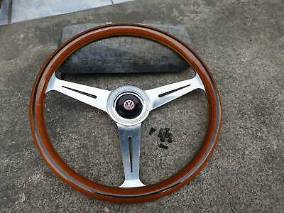 Grant 969-0 Classic Nostalgia Style Steering Wheel with Black Foam Grip and Brushed Stainless Spokes Grant Products