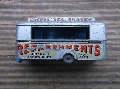 OLD DIECAST LESNEY Matchbox # 74 Mobile Canteen Snacks Made In ...