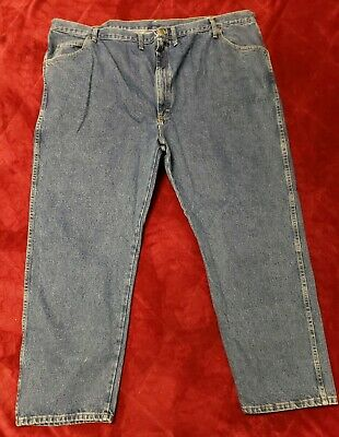 Wrangler Regular Fit Jean Five Star Mens - Size 50 x 29 Big and Tall Ships Free!