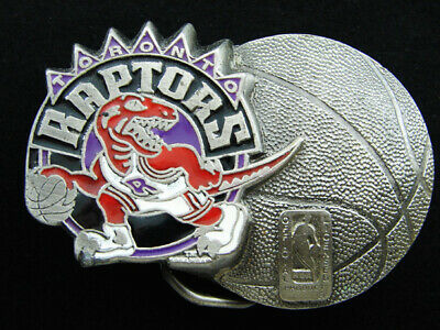 Rf11166 *Nos* Vintage 1994 **Toronto Raptors** Basketball Sports Belt Buckle