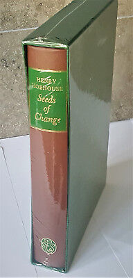 FOLIO SOCIETY SEEDS OF CHANGE: Six Plants That Transformed Mankind NEW SEALED