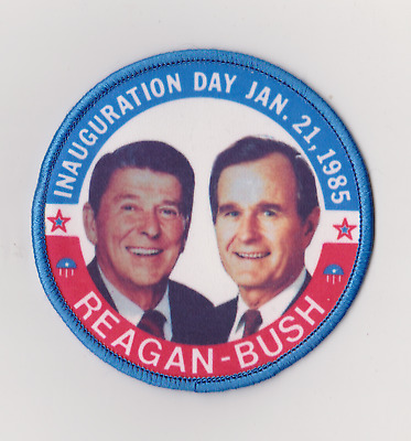 REAGAN BUSH 84 iron-on embroidered PATCH VOTE REPUBLICAN ELECTION RONALD GEORGE