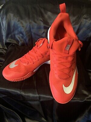 e0fefb10ef9f NEW NIKE ZOOM Shift TB (897811-600) SIZE 13 Red White University Of ...
