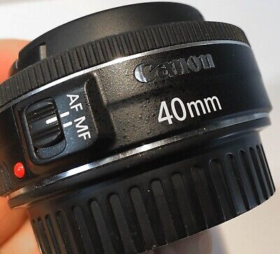 Canon EF 40mm f/2.8 STM Pancake Lens Excellent Condition
