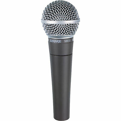 Shure SM58-LC Vocal Microphone SM 58 58LC Dynamic Cardioid Mic US48 2-DAY