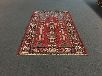 """On Sale Beautiful Hand Knotted kashann  Persian Rug Traditional Carpet 4'2""""x6'6"""