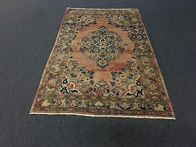 """On Sale Great Deal Hand Knotted Persian-Mahal-Sarouk Rug Carpet 4'5""""x7'6"""""""