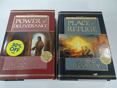 Place of Refuge & Power of Deliverance-The Promised Land Vol 2, 3  LDS Mormon HB