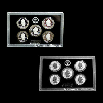 2018 S+S America the Beautiful National Parks Reverse Silver, Silver Proof Set