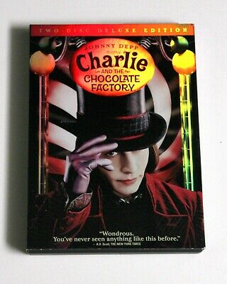 Charlie and the Chocolate Factory Deluxe DVD, GREAT CONDITION!