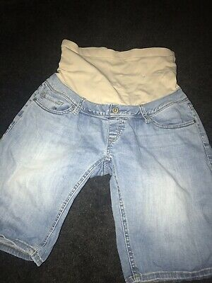 Jeanswest Maternity Pregnancy Shorts Light Denim Size 8