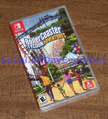 ROLLERCOASTER TYCOON ADVENTURES (Nintendo Switch, physical US