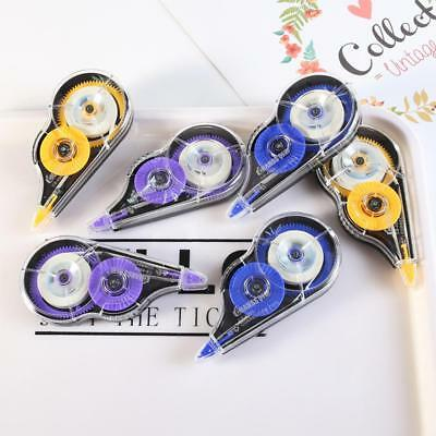 6pcs 8m Correction Tape White Out Stationery Student School Office Supply Tools
