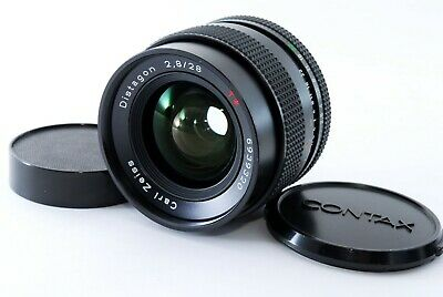 【Excellent++】Contax Carl Zeiss Distagon 28mm F2.8 MMJ Lens from Japan 415911