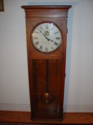 STROMBERG ELECTRIC CO. Master Clock  (Pendulum style) WORKING Antique Timeclock