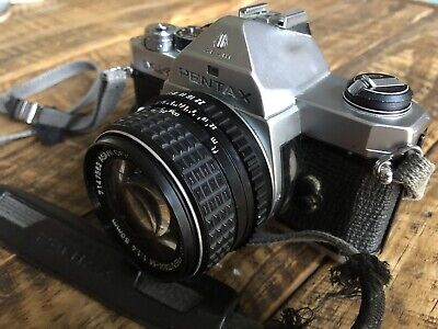 Pentax MX Film 35mm SLR Camera With SMC 50mm 1.4 Lens Excelllent And Tested