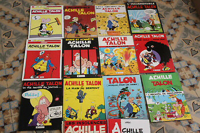 lot de 14 BD Achile talon Greg dargaud dont 2 à restaurer