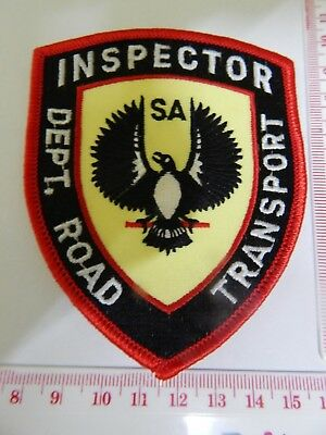 South Australia Transport Inspector  Patch hard to get