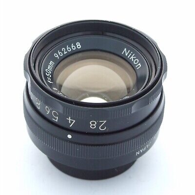 Nikon EL-Nikkor 50mm f2.8 enlarging lens, very good + condition (18243)