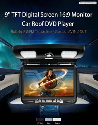 Two XTRONS CR903 Roof Fold Down DVD Player & Games.  2 units.
