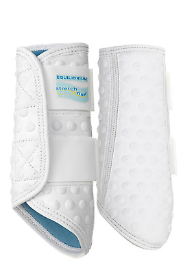 Equilibrium Stretch and Flex Flatwork Wraps. Size small. White. NEW
