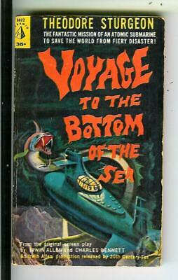 VOYAGE TO THE BOTTOM OF THE SEA by Sturgeon, Pyramid #G622 sci-fi TV vintage pb