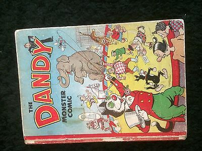 The DANDY Monster Comic (D C Thomson) Book/Annual. RARE issue Xmas 1950 - 1951.