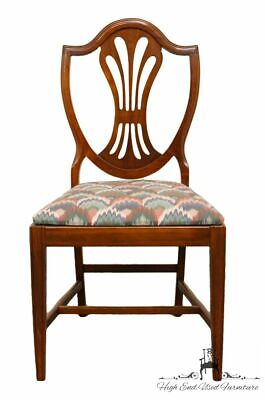 1960's Antique Vintage Duncan Phyfe Shield Back Dining Side Chair