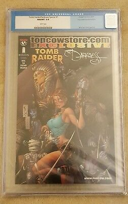 Tomb Raider / Darkness Special #1 (2001) Graded Cgc 9.8 - Billy Tan Cover & Art