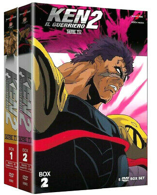 KEN IL GUERRIERO 2 LA SECONDA SERIE TV COMPLETA 2 BOX (10 DVD) Yamato Video