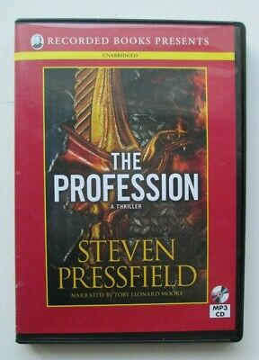 The Profession by Steven Pressfield, MP3 CD Unabridged Audiobook