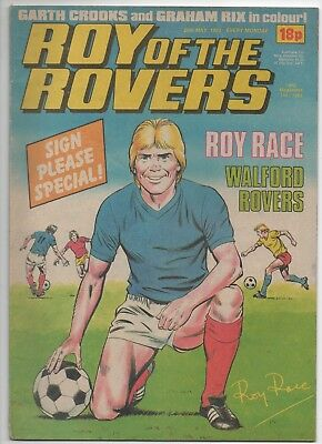 Roy of the Rovers (Vintage Comic) 28th May 1983