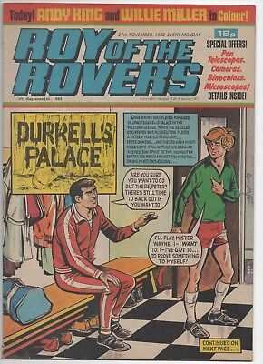 Roy of the Rovers (Vintage Comic) 27th November 1982