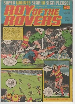 Roy of the Rovers (Vintage Comic) 3rd March 1984