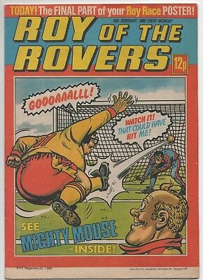 Roy of the Rovers (Vintage Comic) 16th February 1980