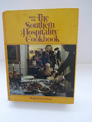 1976 1st Print - The Southern Hospitality Cookbook - Vintage Cookbook Meal Plans