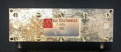 RLC Electronics 1.8 to 2.0 GHZ Bandpass Filter F-10954
