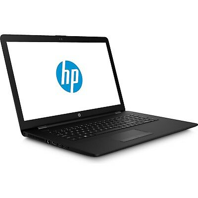 HP Notebook 17 Zoll HD+ AMD 4 Compute Core 4GB 500GB Windows 10 Pro RADEON DVD
