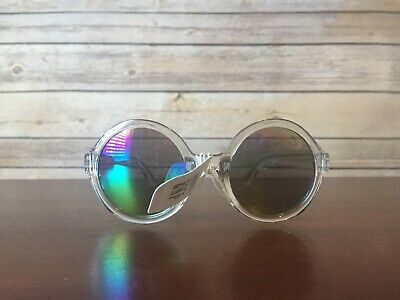 86d2536af7ae Baby Gap Toddler Girl Sunglasses Clear Round Mirrored NEW NWT HBY7