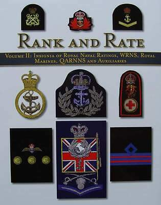 BOEK/LIVRE : Insignia of Royal Naval Ratings, WRNS, Royal Marines, QARNNS and Au