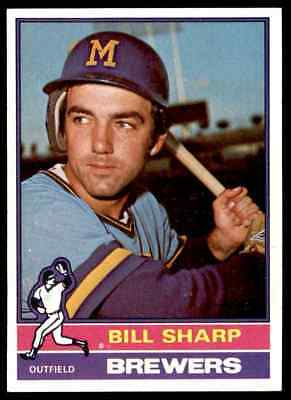 1976 Topps Bill Sharp #244 Nm-Mt Or Better Centered Set Break Blr9T1