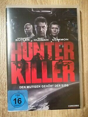 Hunter Killer mit Gerard Butler DVD wie neu !