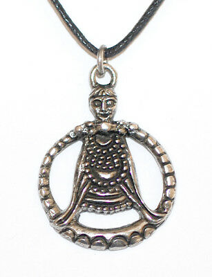 Viking Freya pendant Pewter on leather thong  ASGARD Scotland