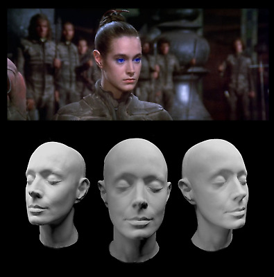 Life Mask White Plastic Sean Young Cast Lifemask Lifecast Blade Runner Dune Face